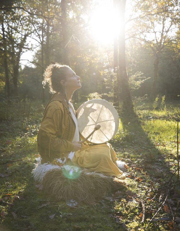 Phénomène   qui sont les femmes chamanes   - Elle 3a5dd355d26