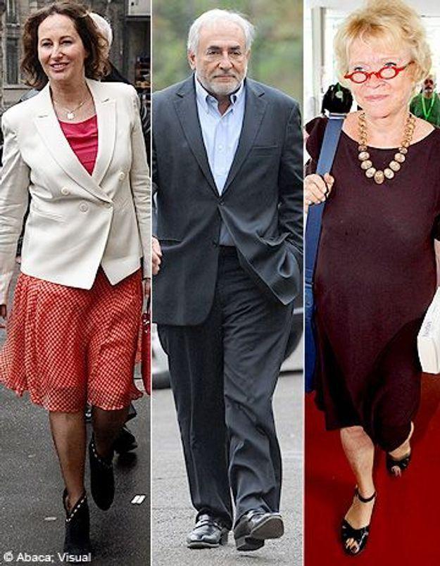 Politique : Ségolène Royal, DSK et Eva Joly agacent les Français