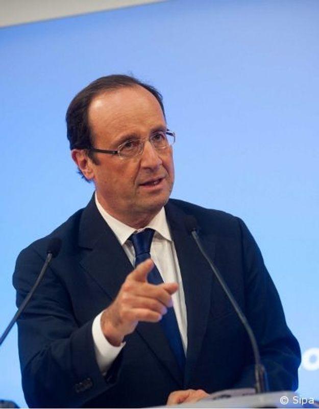 """Pour Hollande, le discours de Toulon est """"un aveu d'échec"""""""