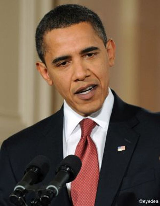 Première conférence de presse pour le Président Barack Obama