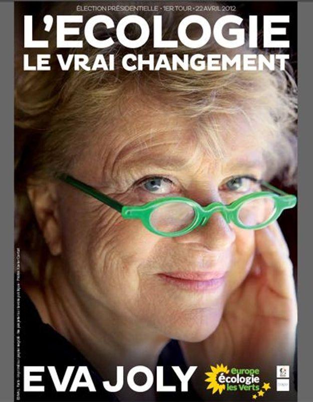 Présidentielle : Eva Joly opte pour des lunettes vertes