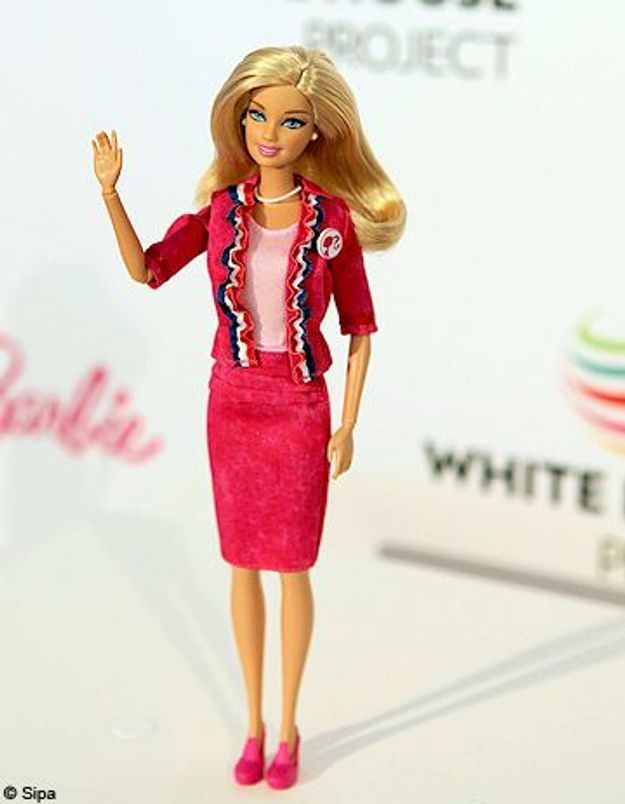 Présidentielle USA : Barbie part en campagne