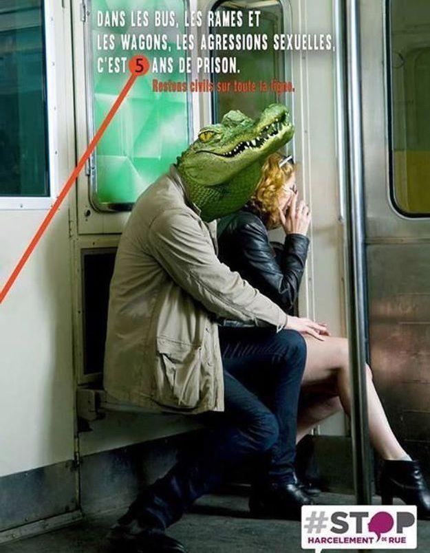 #PrêtàLiker : une affiche de la RATP détournée pour dénoncer le harcèlement