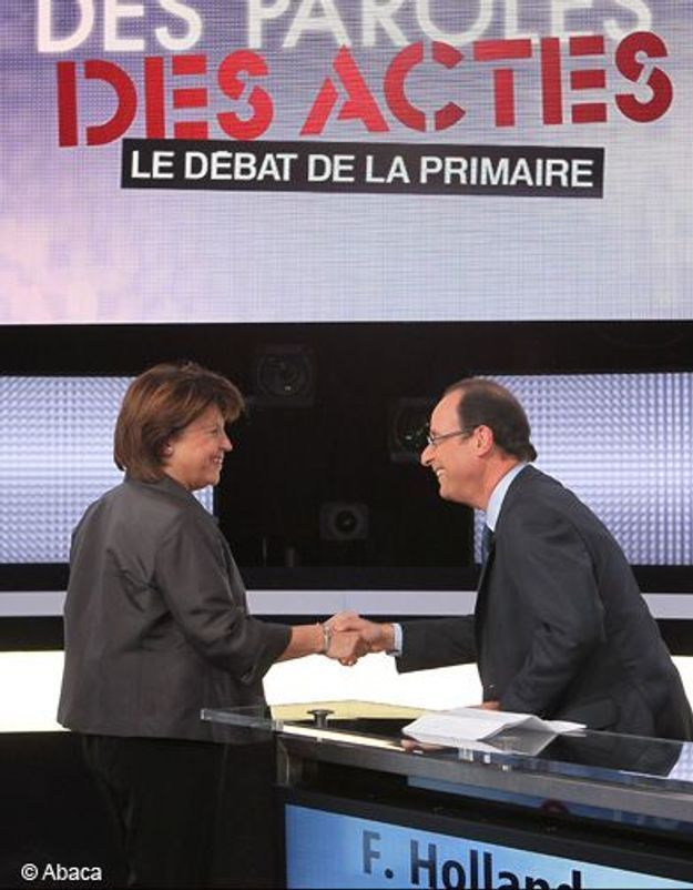 Primaire socialiste : Aubry offensive, Hollande rassembleur