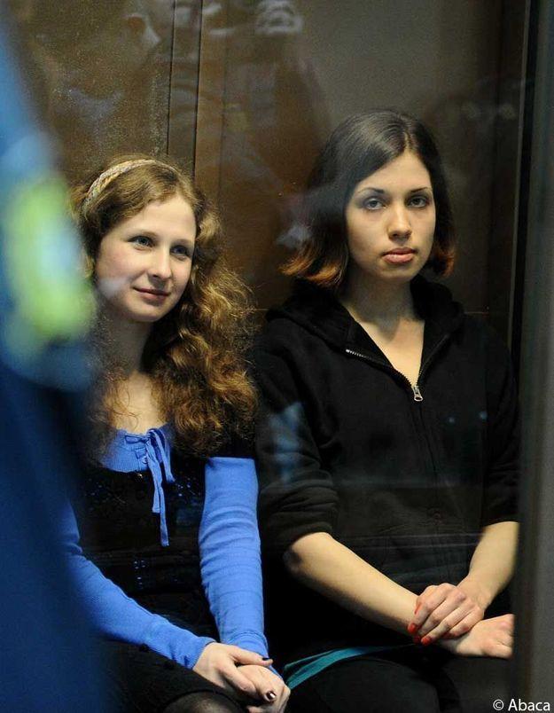 Pussy Riot : les deux femmes ont perdu leur appel