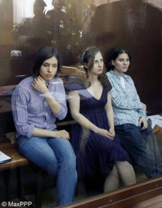 """Pussy Riot"" : leur condamnation indigne l'opinion internationale"