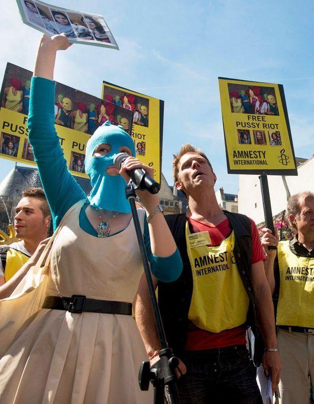 Pussy Riot : nouvelles manifestations de soutien