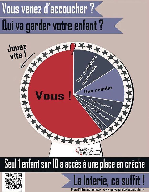 Qui va garder les enfants ? La campagne d'Osez le Féminisme