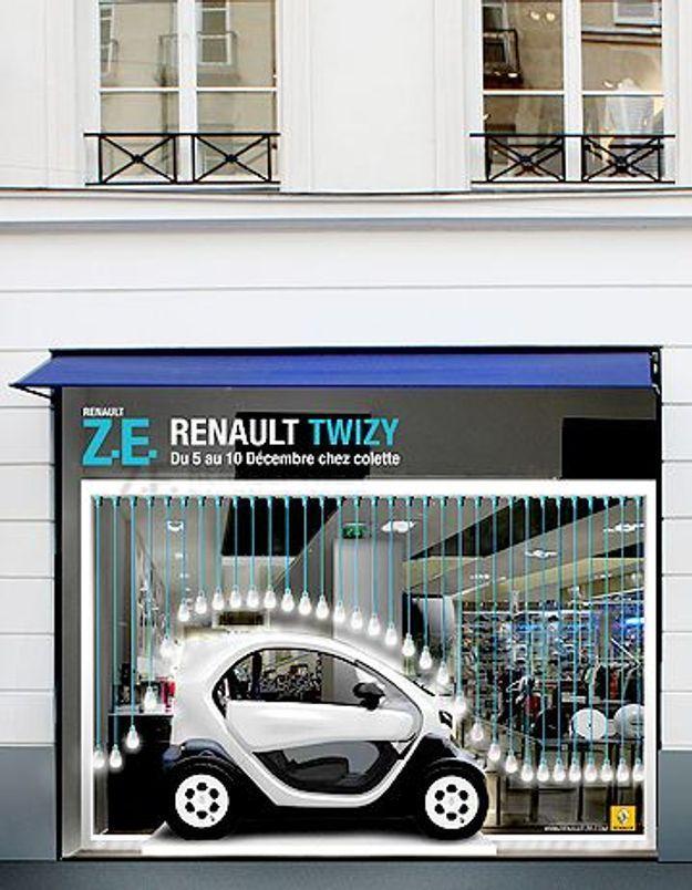 Renault expose sa « Twizy » chez Colette