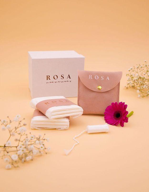 Rosa, la box de protections hygiéniques 100% bio