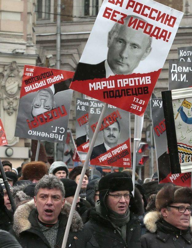 Russie : manifestation contre la loi anti-adoption