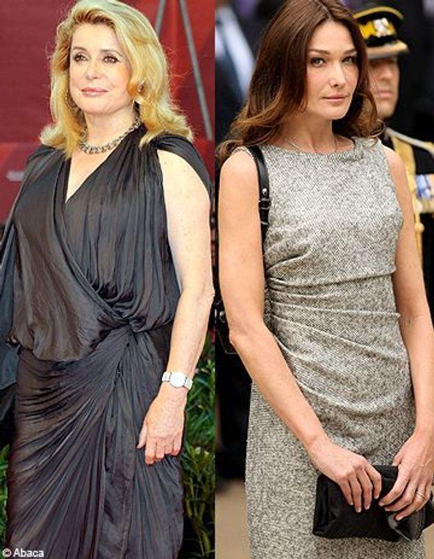 Sakineh : Catherine Deneuve s'en prend à Carla Bruni-Sarkozy