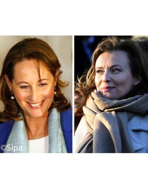 Ségolène Royal et Valérie Trierweiler à New York le même jour