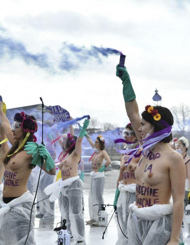 Sexisme : les Femen font irruption au musée d'Orsay pour dénoncer la sexualisation du corps des femmes
