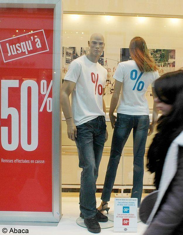 Soldes : les ventes en hausse de 10%