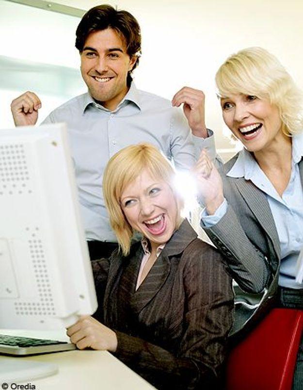 Sondage : les Français heureux au travail