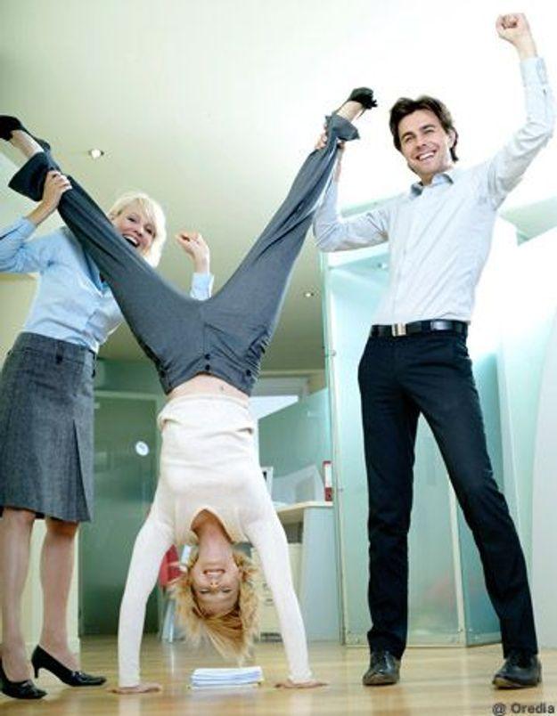 Sondage : les Français stressés mais heureux au travail