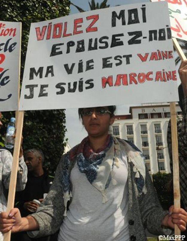 Suicide d'une mineure violée : les Marocaines manifestent