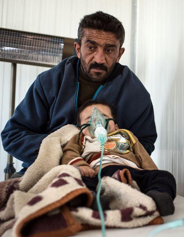Syrie : des enfants victimes d'armes chimiques ?