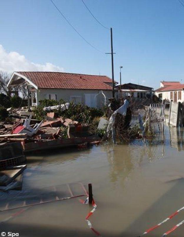 Tempête Xynthia : de nombreux logements encore submergés