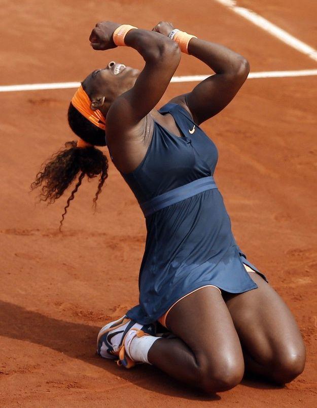 Tennis: Serena Williams remporte la finale de Roland-Garros