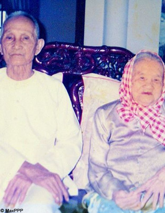 Un couple de Vietnamiens a fêté ses 82 ans de mariage
