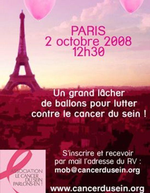 """Un """"flash mob"""" contre le cancer du sein"""