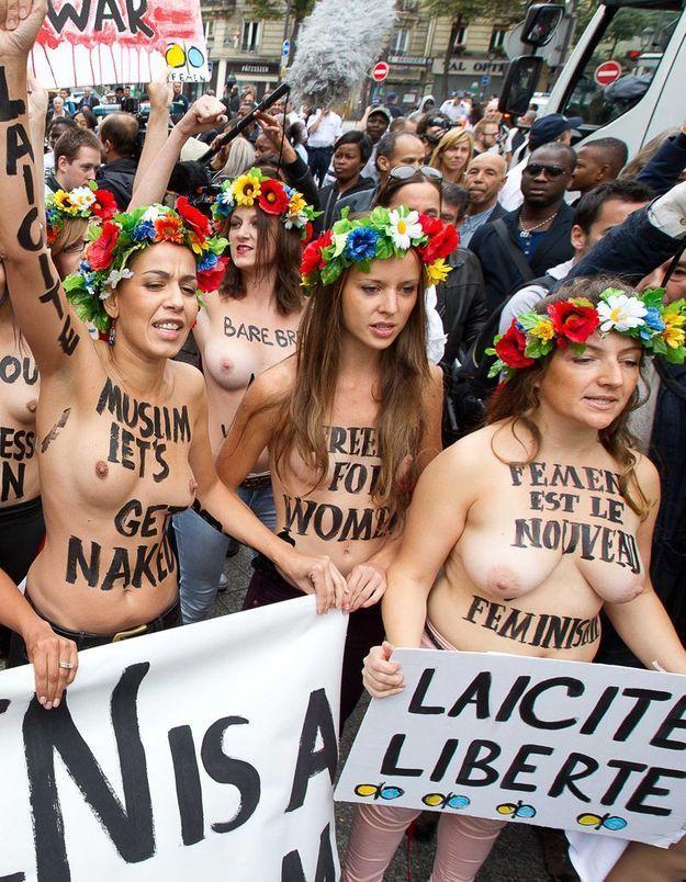 Un militant Femen passé à tabac en Ukraine