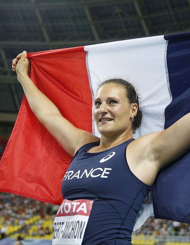 Une Française sur le podium des mondiaux d'athlétisme