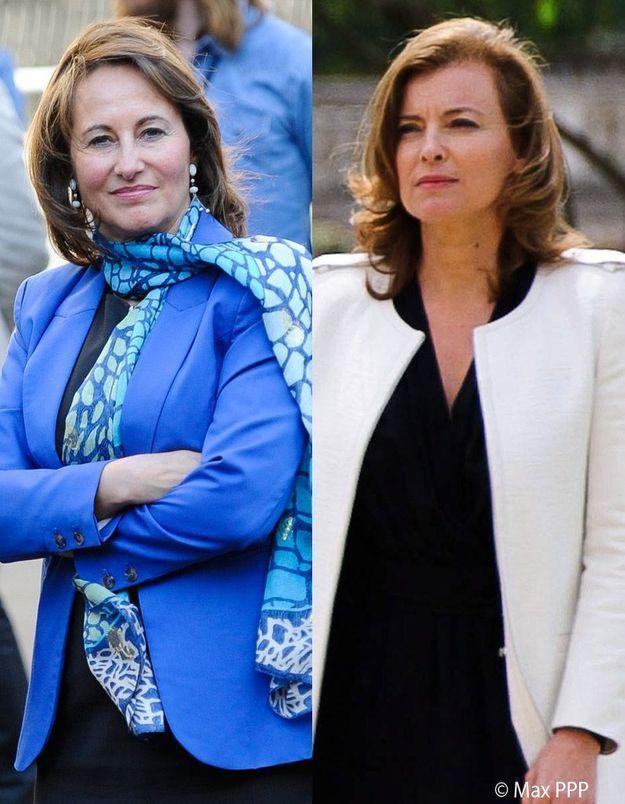 Valérie Trierweiler et Ségolène Royal : une cohabitation sous tension