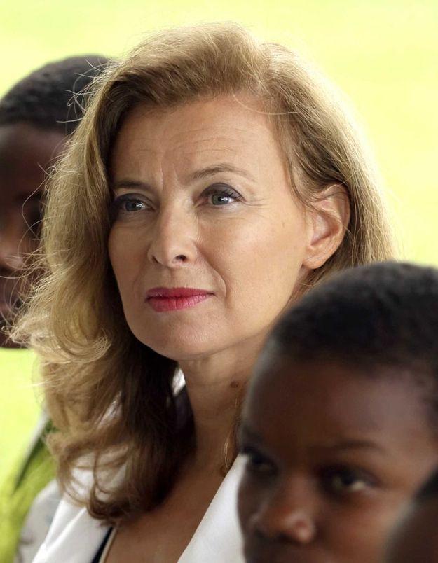 Valérie Trierweiler rencontre les femmes violées en RDC