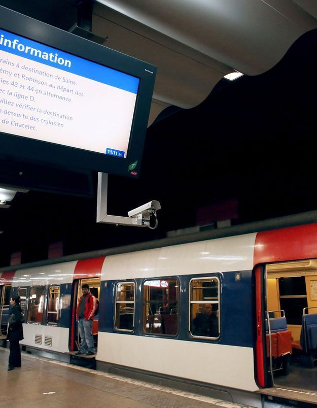 Viols dans le RER D : un suspect arrêté