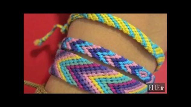 Apprenez à faire un bracelet brésilien