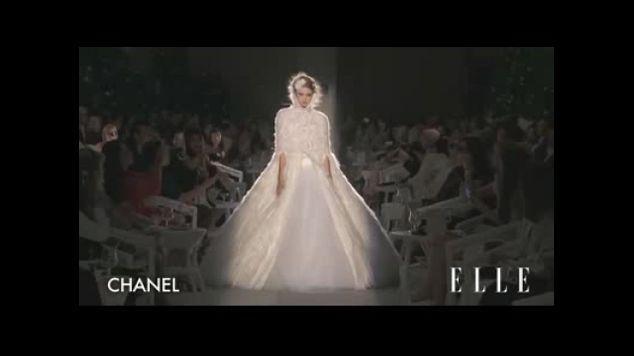 Défilé Chanel Haute Couture automne hiver 2012-2013