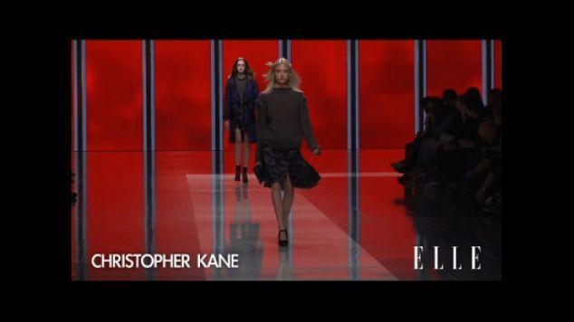 Défilé Christopher Kane automne-hiver 2013-2014