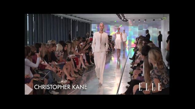 Défilé Christopher Kane prêt à porter printemps-été 2013