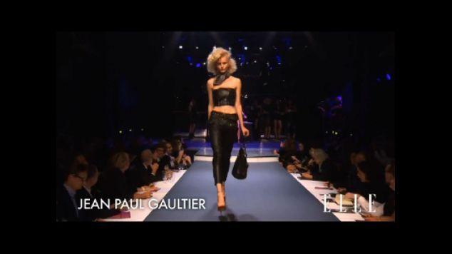 D fil jean paul gaultier pr t porter printemps t 2014 elle vid os - Jean paul gaultier pret a porter ...