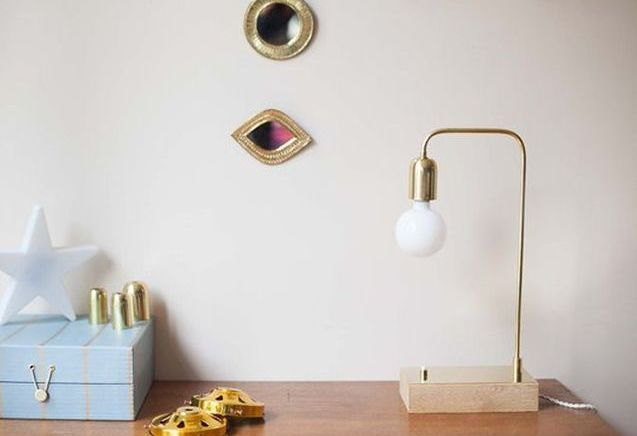 L'objet déco du jour : la lampe à poser Vanity Boum