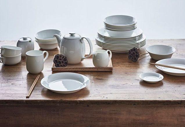 Muji : les nouveautés pour une déco de table minimaliste