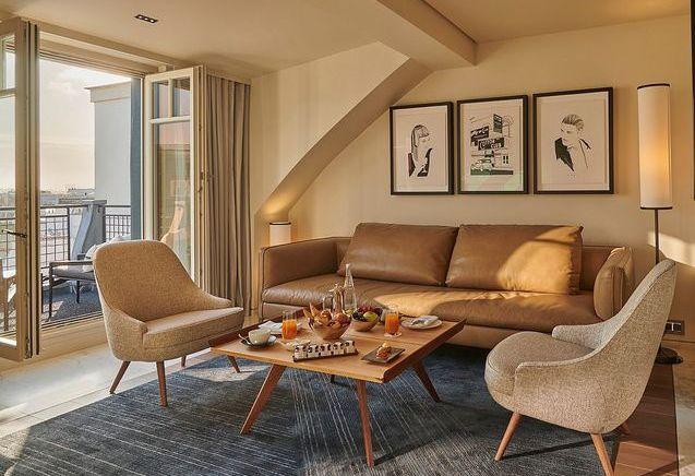 Visite de la suite Francis Ford Coppola pour l'Hôtel Lutetia