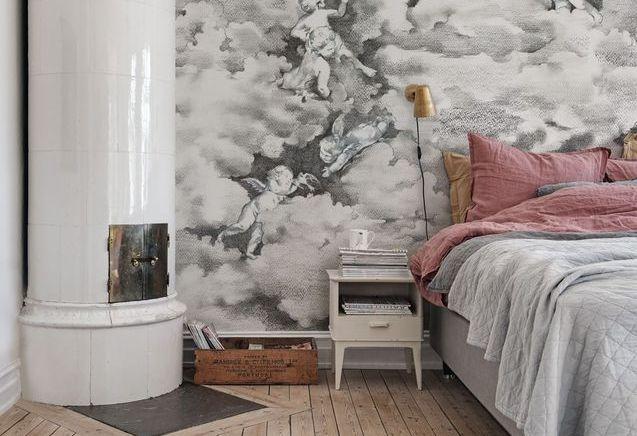 La chambre grise ne fait certainement pas grise mine