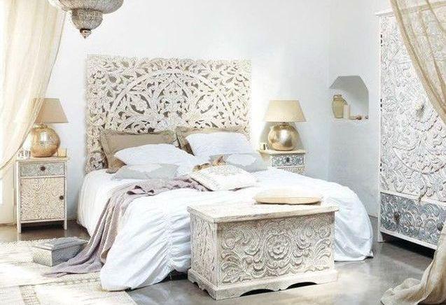 Déco tête de lit orientale, une touche féérique dans votre chambre