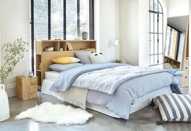 Tête de lit avec rangement : l'idée déco qui a tout bon !