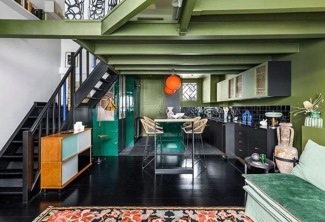 Un atelier d'artiste se met au vert