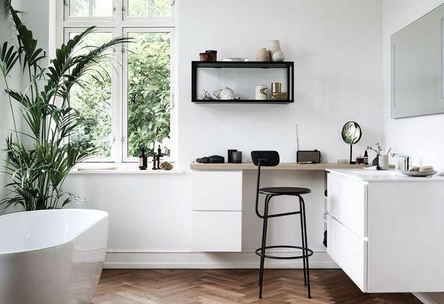Salle de bains elle d coration for Deco salle de bain blanche