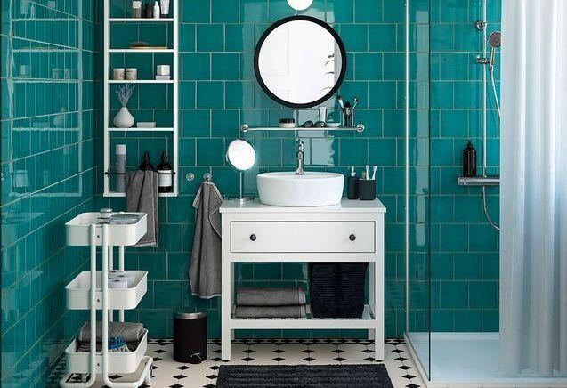 Les plus belles salles de bains du catalogue IKEA