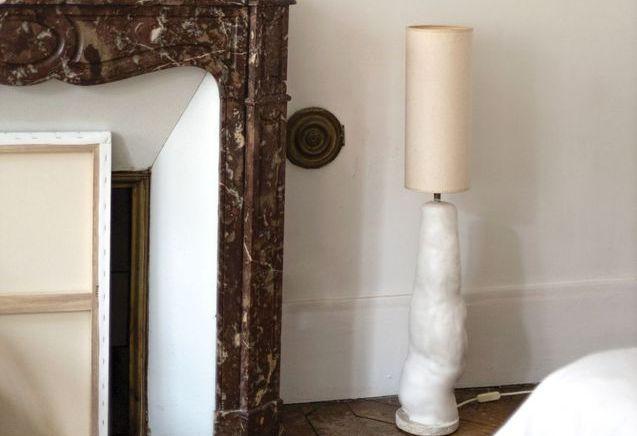 Créer un pied de lampe effet céramique avec I MAKE