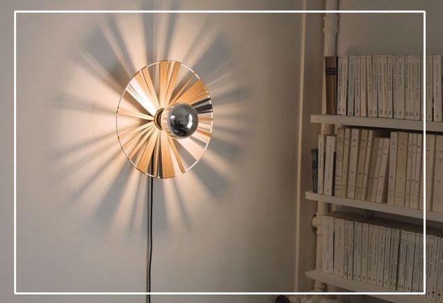DIY : comment fabriquer une lampe en tissu originale