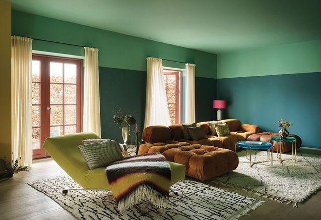 Comment utiliser la peinture pour structurer une pièce ?