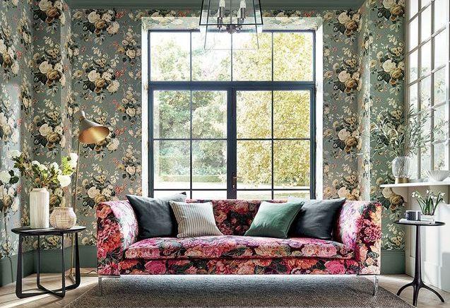 Papier peint fleuri : 34 modèles pour un intérieur so bucolique !